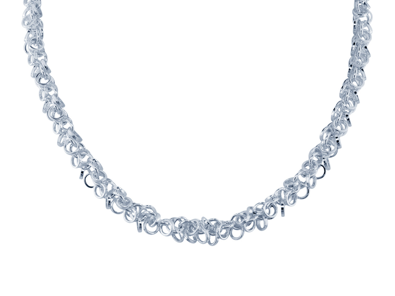 Sterling Silver 5mm Multilink      Chain, Loose