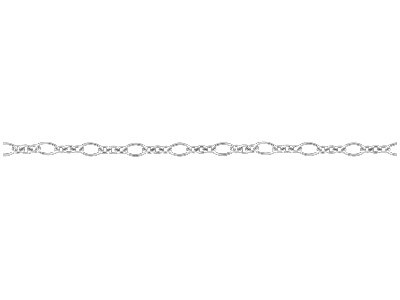 Sterling Silver 3.0mm Loose Fancy  Chain