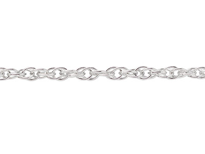 Sterling Silver 1.8mm Loose Rope   Chain