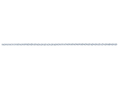 Sterling Silver 2.0mm Loose Trace  Chain