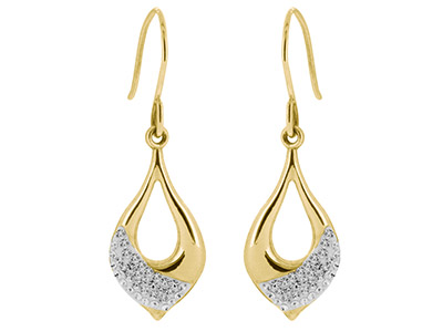 9ct-Yellow-Crystal-Drop-Earrings----E...