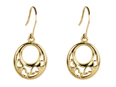 9ct-Yellow-Oval-Drop-Earrings-With-Fi...