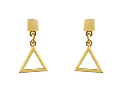 9ct-Yellow-Gold-Triangle-Outline---Dr...