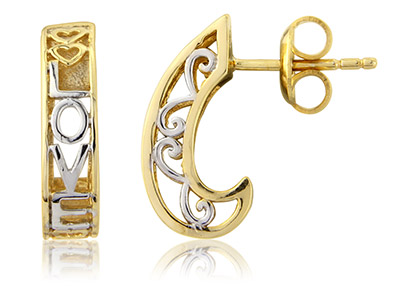 Sterling-Silver-Earrings-----------Go...