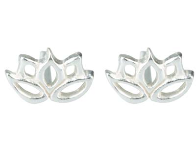 Sterling-Silver-Lotus-Flower-------Ou...
