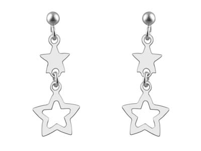 Sterling-Silver-Double-Star-Design-Dr...
