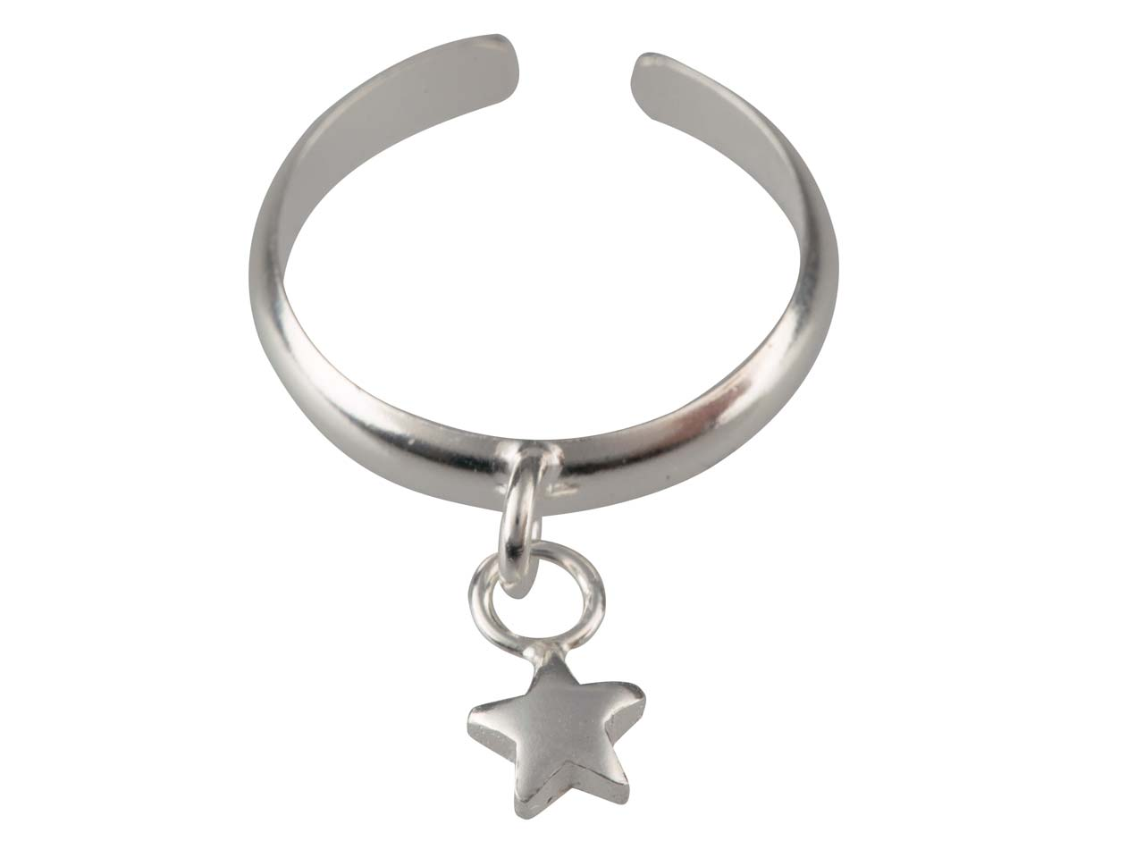 Sterling-Silver-Toe-Ring-With-Star-Charm