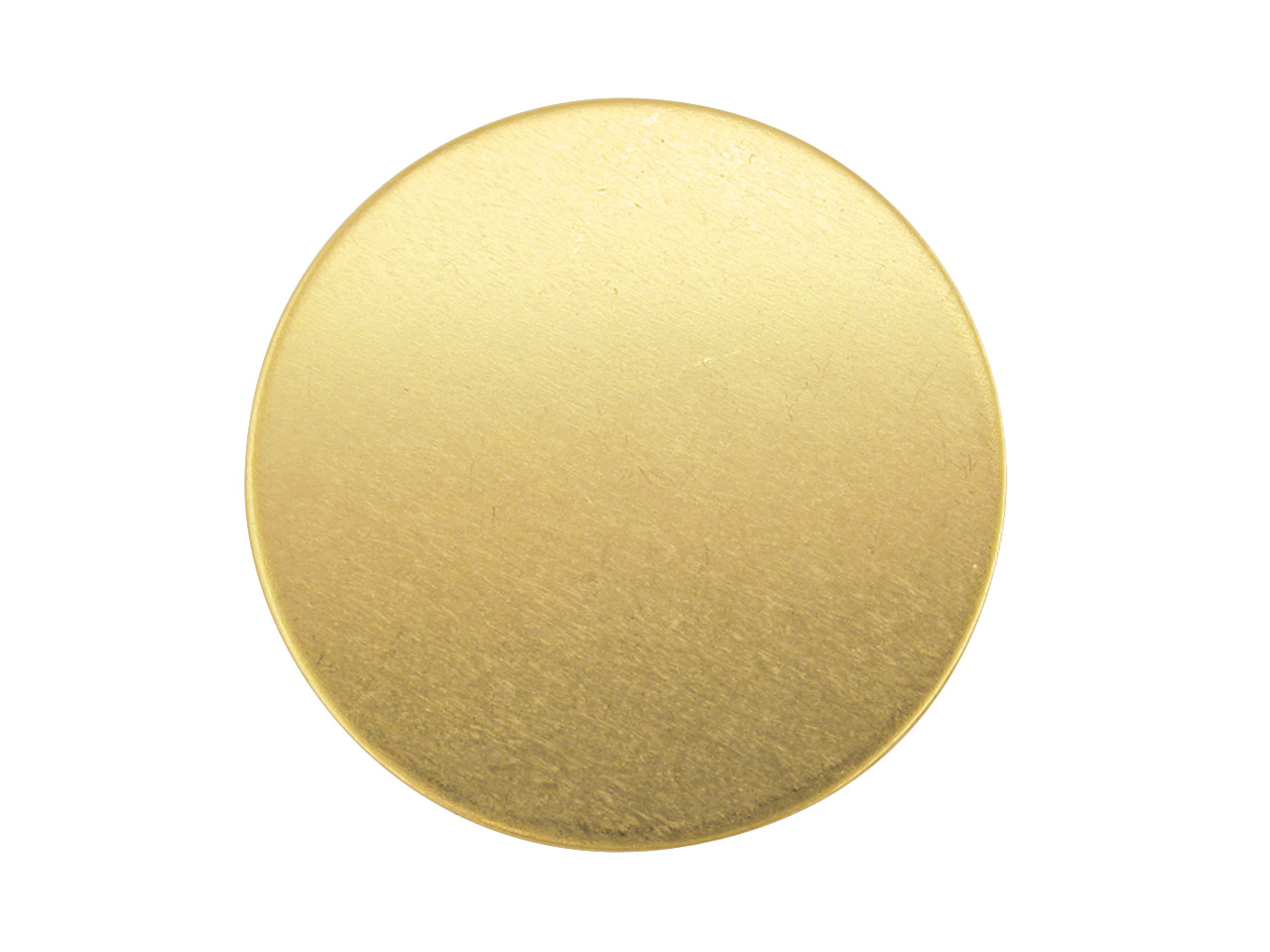 9ct Yellow Gold Blank Fb01500      1.00mm X 15mm Fully Annealed Round 15mm, 100% Recycled Gold