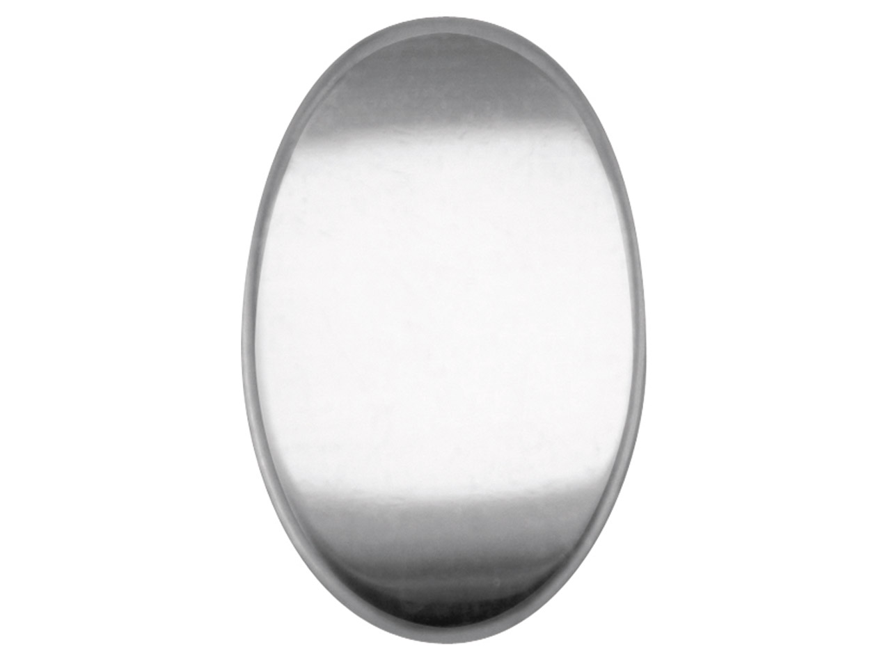 Sterling Silver Blank Kc8208 1.00mm Fully Annealed Oval 20mm X 13mm