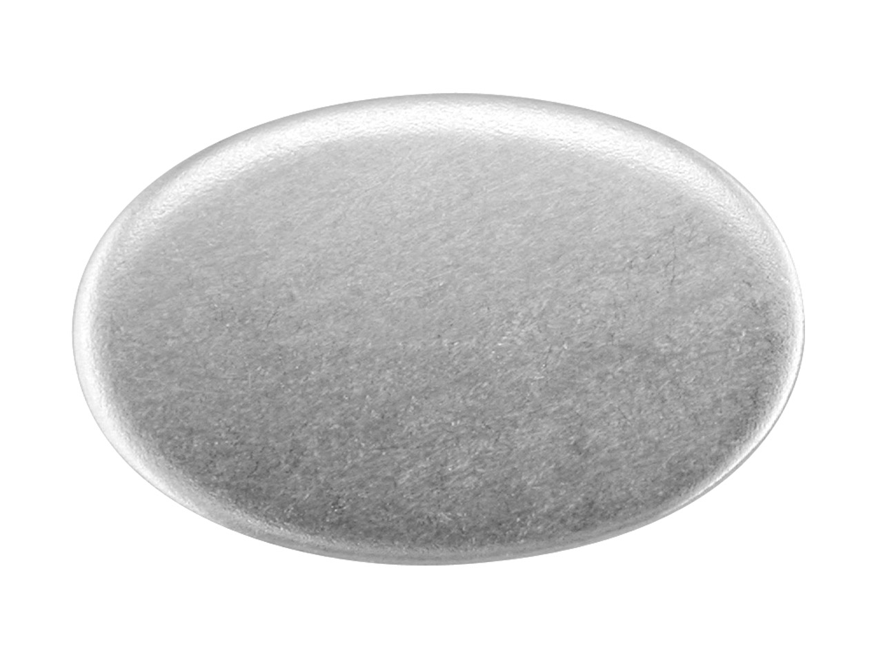 Sterling Silver Blank Kc8208 1.50mm Fully Annealed Oval 19mm X 12.5mm