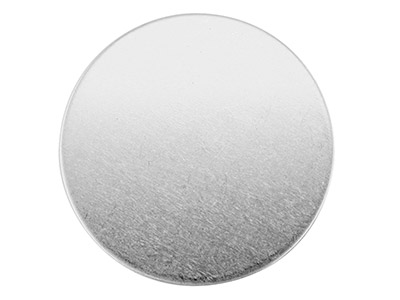 Sterling Silver Blank Fb01800      0.50mm X 18mm Fully Annealed Round 18mm