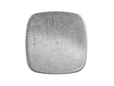 Sterling Silver Blank Kc8222 1.00mm Fully Annealed Cushion 12.8mm