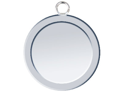 Fine Silver Pendant Cpm81 1.50mm Fully Annealed Blank 21.7mm Round