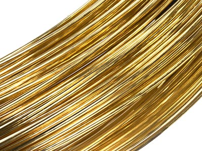 18ct Yellow Gold Wire