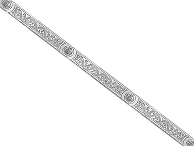 Silver Patterned Wire