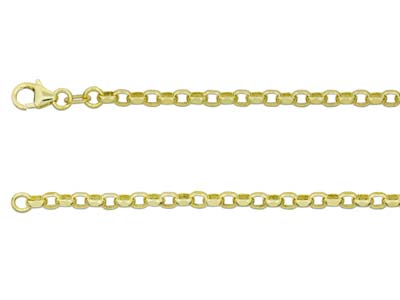 9ct Yellow Gold Diamond Curb