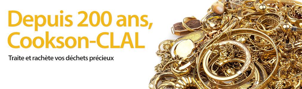 Cookson-CLAL, rachat d'or et affinage