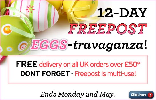 12-Day Free Post EGGS-travaganza!