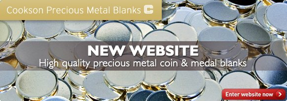 New Cookson Coin Blanks Website