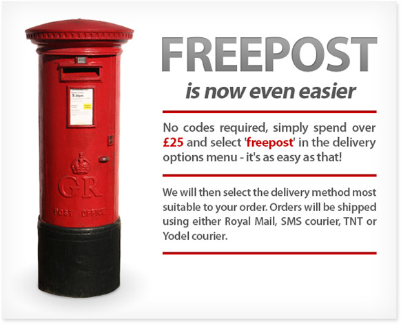 Freepost Now Even Easier