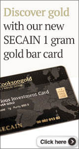 New Secain 1gm Gold Bar