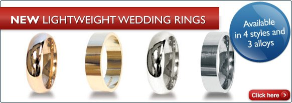 New Lightweight Wedding Rings