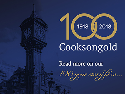 100 Years of Cooksongold