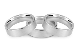 Palladium 950 Wedding Rings