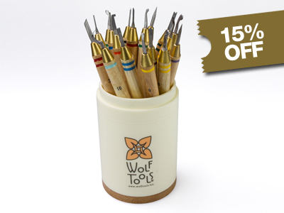 Wolf Precision Wax Carver Complete Set Of 18