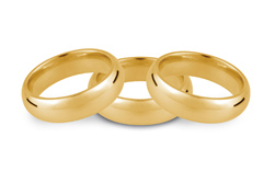 9ct Yellow Weddings Rings