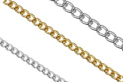 Base Metal Loose Chain