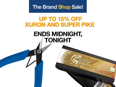 Save on Xuron Pliers and Super Pike Sawblades