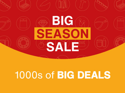 The Big Season Sale: NOW ON!