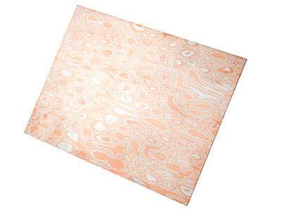 Mokume Gane Patterned Sheet
