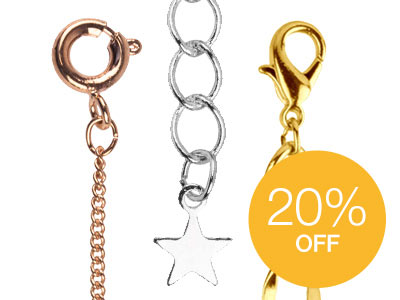 20% OFF Base Metal Chain