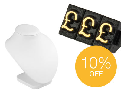 10% OFF Selected Display and Sundries