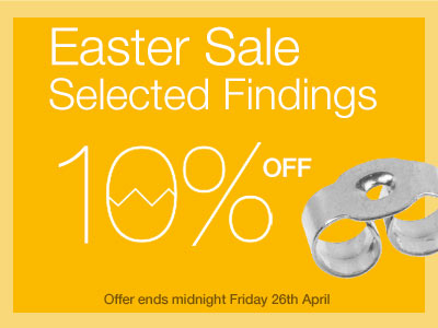Save 10% OFF Selected Findings