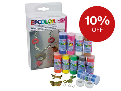 10% OFF Enamelling and Resins