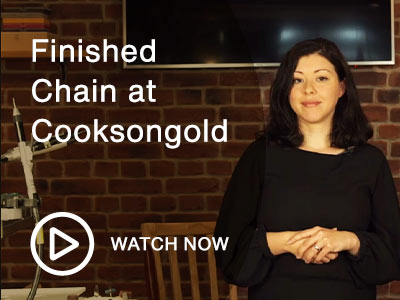 Finished Chain at Cooksongold