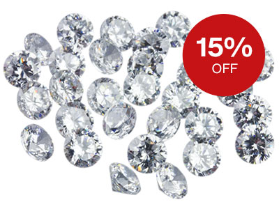 15% OFF Gemstones