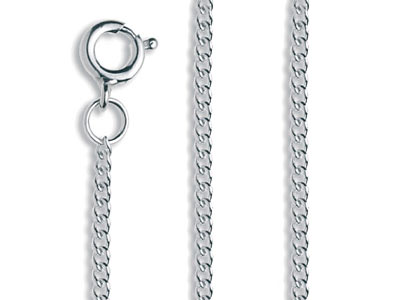 Sterling Silver Curb Chain