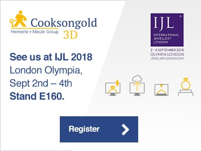 Cooksongold 3D Launches at IJL