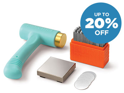 Up to 20% OFF Metal Stamping Kits