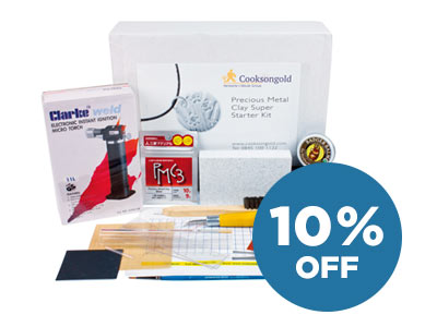 10% OFF Precious Metal Clay Super Starter Kit