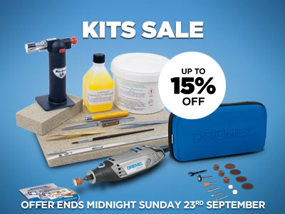 Up to 15% OFF Kits in our Kits Sale!