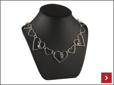 Love is Evergreen Chainlink Necklace