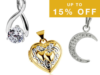 Up to 15% OFF Finished Jewellery