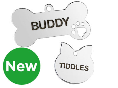 New Pet ID Tags