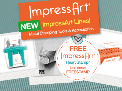Over 100 New Impress Art Products PLUS Free Stamp