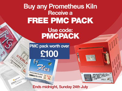 Buy a Prometheus Kiln & claim your FREE Clay Pack